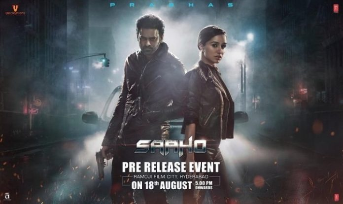 Saaho Pre Release Event Plans Highlights Revealed