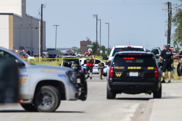 Odessa Texas Shooting Scene