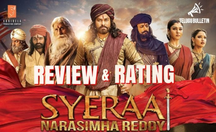 Sye Raa Movie Review & Rating