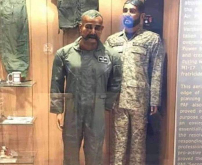 Abhinandan's Mannequin In Pakistan Museum