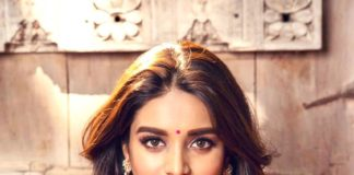 Nidhhi Agerwal Photoshoot For Manepally Jewellers