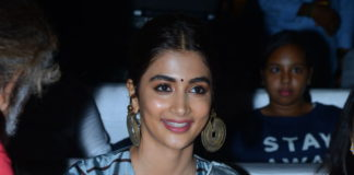 Tollywood Heroine Pooja Hegde at AVPL Success Celebrations