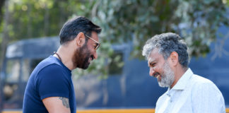 Bollywood Star Ajay Devgn Joins Ss Rajamouli's Rrr Shoot