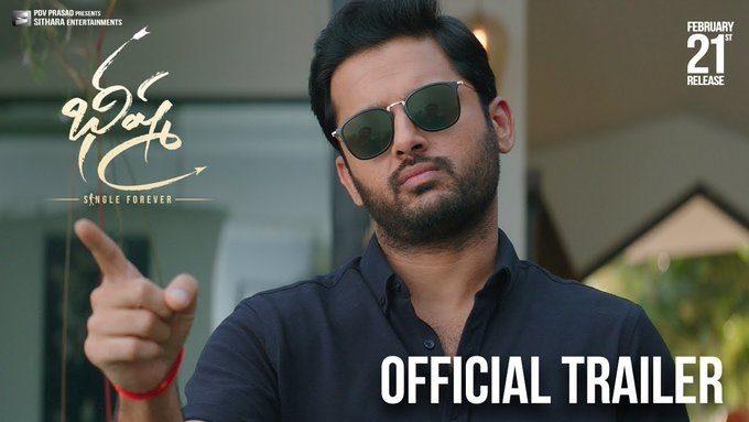 Bheeshma Trailer Super Hit Written All Over It Telugubulletin Com