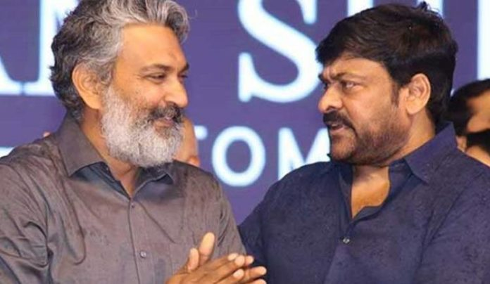 Mega Star In Talks With Rajamouli Over Charan Issue