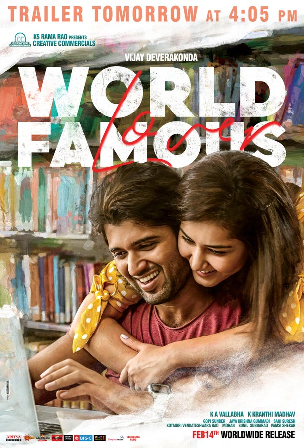 Video – World Famous Lover Trailer Launch Live