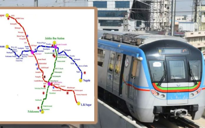 Jbs – Mgbs Metro Route Creates Record In Hyderabad
