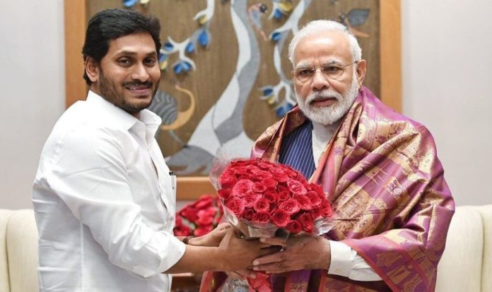 Jagan Meets Modi To Discuss On 3-capital Bill