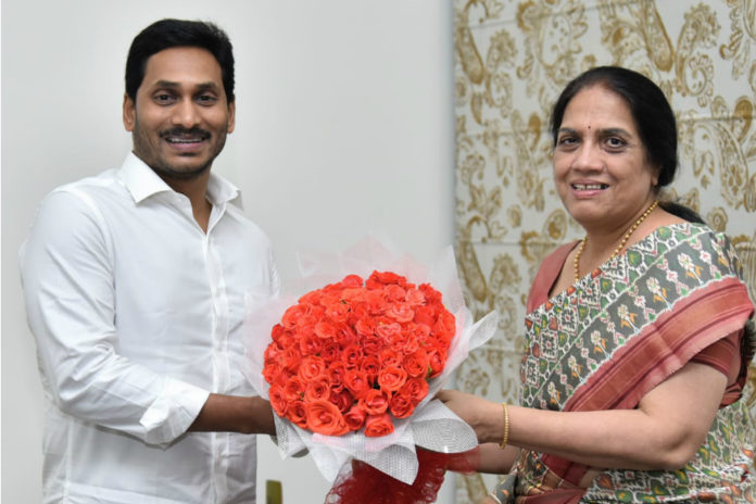 She Is Very Very Unhappy With Jagan ??