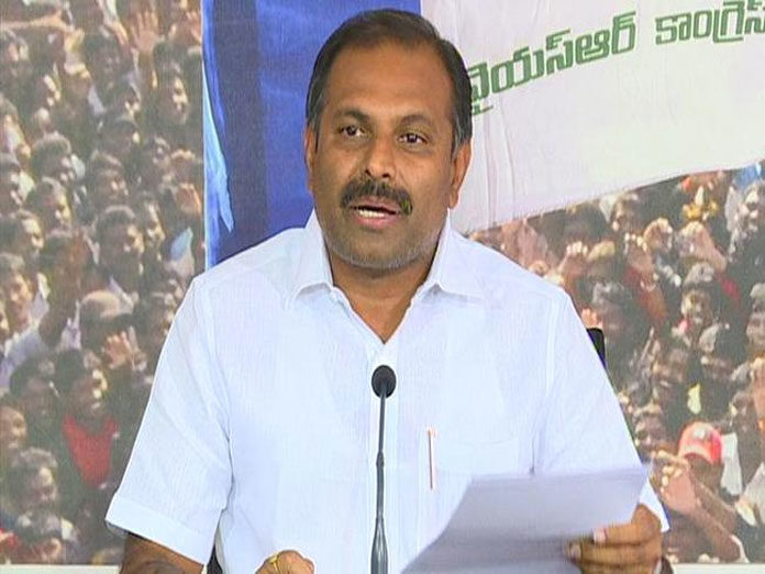 Naidu Cannot Go Anywhere Without Them: Ycp Srikanth Reddy