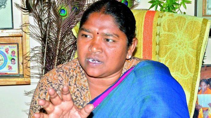 Amaravati Farmer Fell On Telangana Mla's Feet?