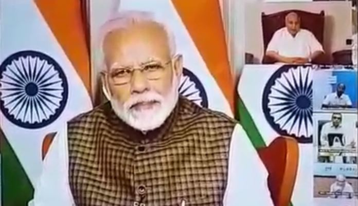 B Exclusive: Ramoji Rao's Video Conference With Modi… Corona Outbreak Dealt In Their Own Style