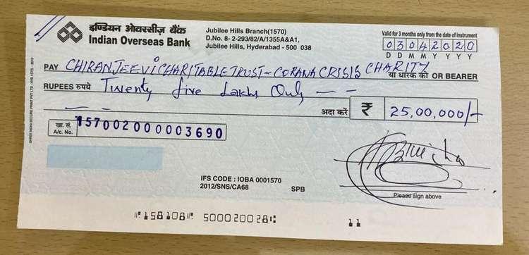 Nbk Donates 1.25cr To Fight Corona Virus