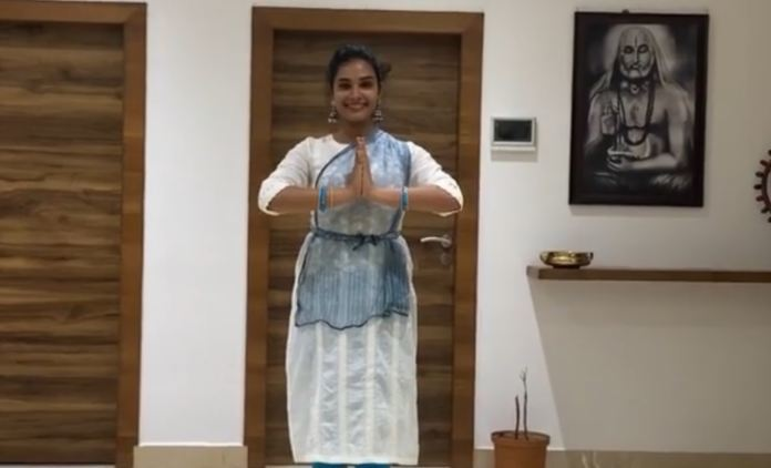Actress Hariteja Moves Us With Her Classical Moves