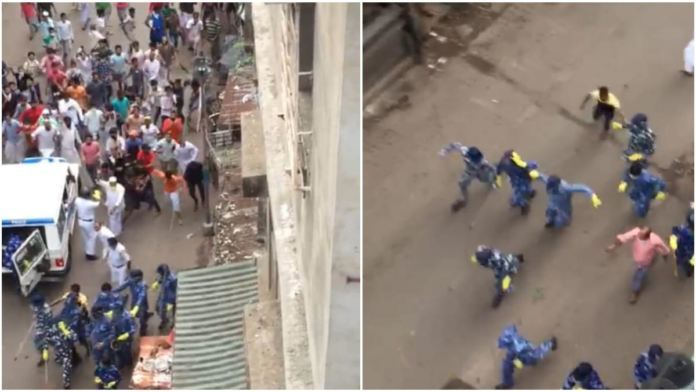 Locals At Howrah Pelted Stones On The Police Men