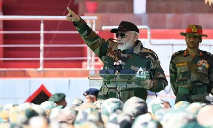 Narendra Modi Is To Bring The 'army' Into The Country?