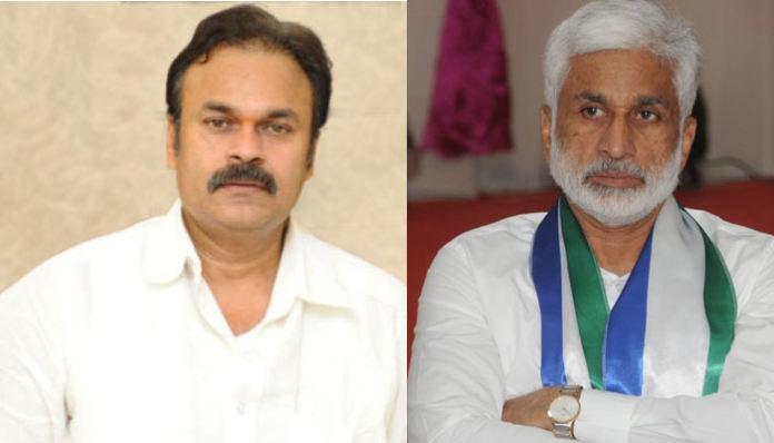 Vijay Sai Reddy Lobbying For Pawan Kalyan?
