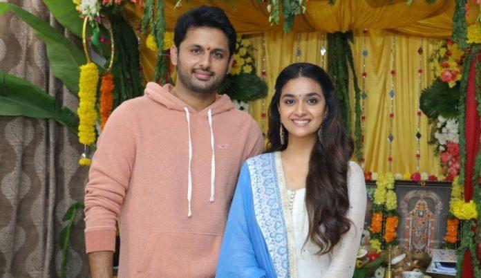 Keerthy Suresh To Star In Nithiin's Two Film Series
