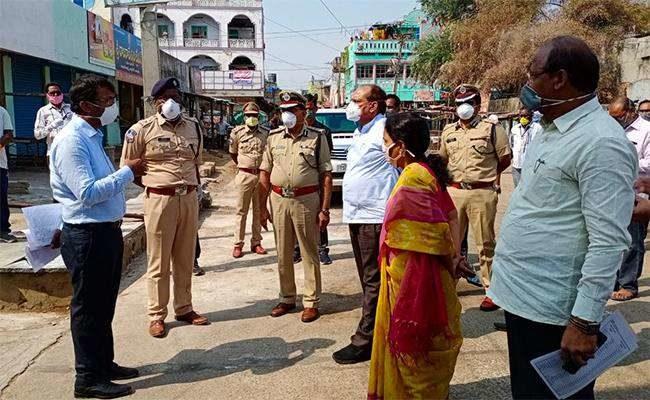 New Hotspot In Telangana: Surya Pet Completely Sealed
