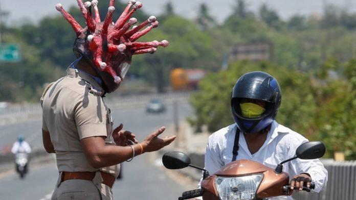 Police Authorities Initiated Innovative Punishments For Lock Down Violators