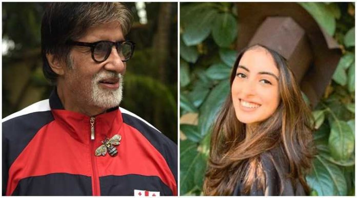 Amitabh Bachchan Shares A Happy Note On Granddaughter Navya's Graduation Day