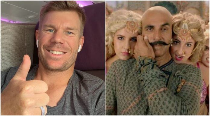 David Warner Once Again Steals The Spotlight With Akshay Kumar's Hit Song