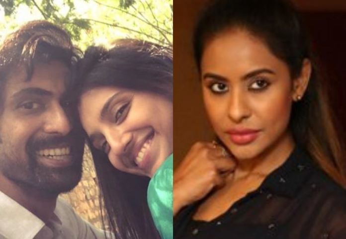 Controversial Lady Srireddy Wishes Rana On His Engagement