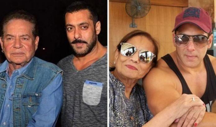 Salman Khan Pays A Quick Visit To Meet His Parents Amid Lockdown