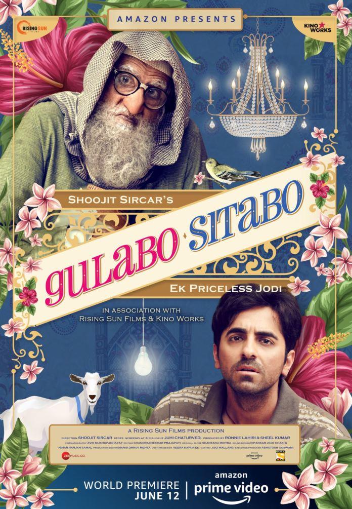 Gulabo Sitabo Digital Release Amazon Prime