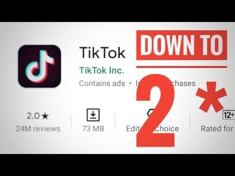 Indians Began To Downgrade Tiktok Ratings Owing To An Alarming Video