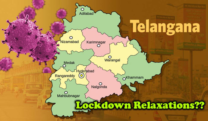 Telangana Govt Might Give More Relaxations Than The Centre Prescribed?
