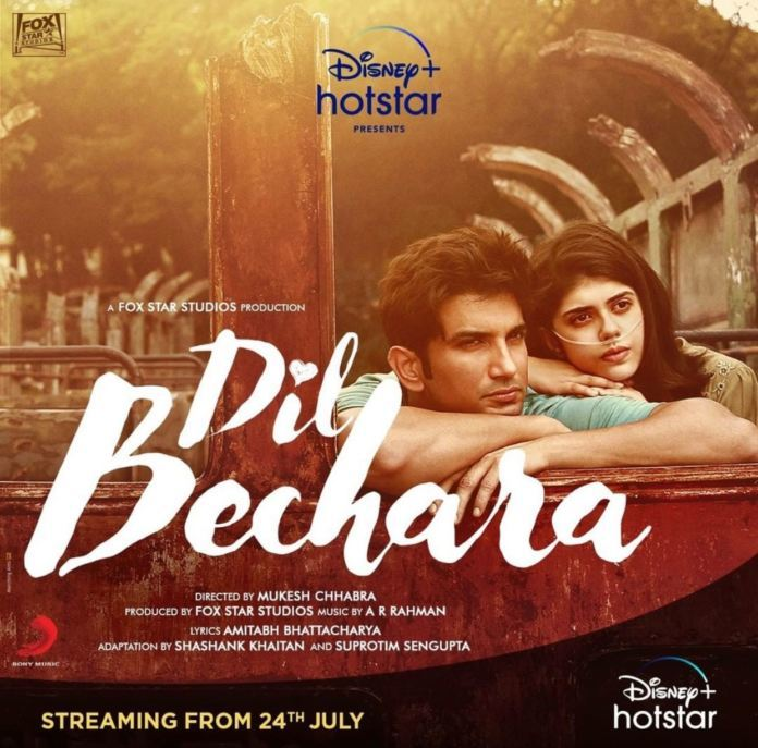 Dil Bechara – An Emotional Tribute To Superstar Sushant.!