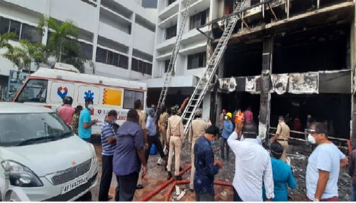 At least 9 people died in a fire accident happened at Swarna ...