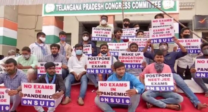 Telangana Nsui Chief Begins Hunger Strike Seeking Postponement Of Degree Exams