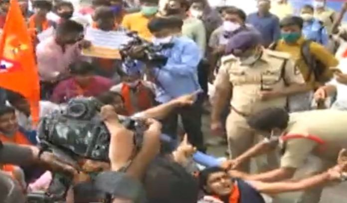 Bajrang Dal Plans Attack On Jagan's House In Hyderabad On Ttd Issue