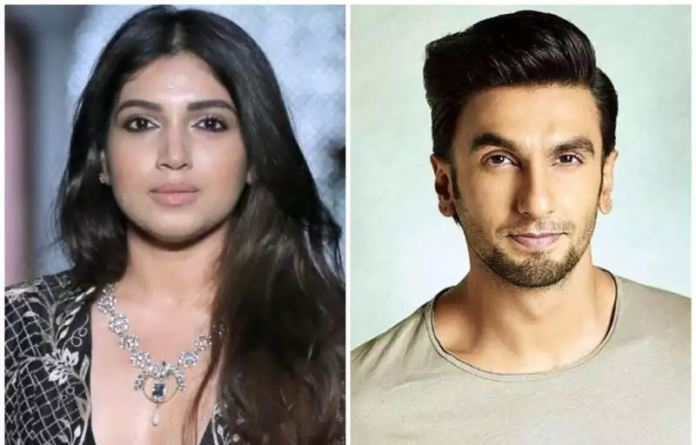 Bhumi Pednekar Suggests A Bizarre Profession To Ranveer Singh!