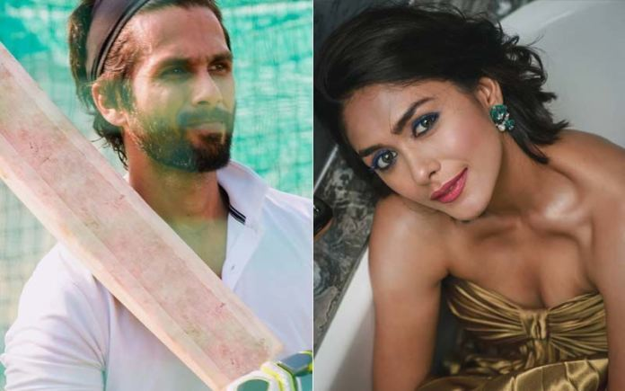 Mrunal Thakur And Shahid Kapoor To Shoot Emotional Scenes For Jersey
