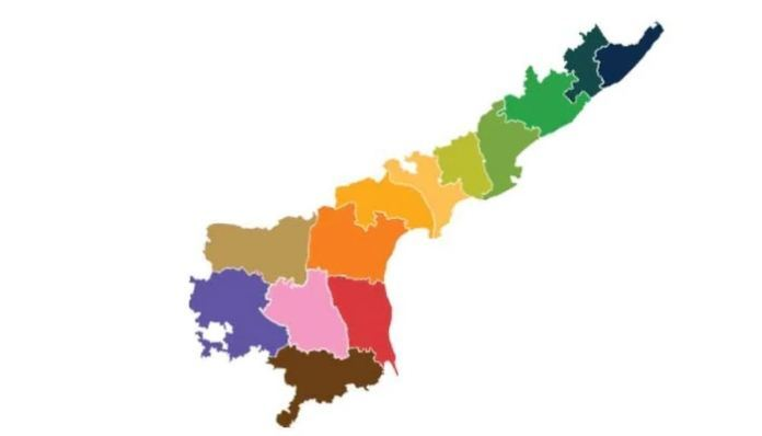 Date Set For The Announcement Of New Districts Of Ap..!