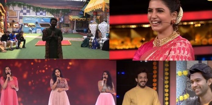 Bigg Boss Telugu 4: Celebs' Appearances Amp Up The Festive Mood