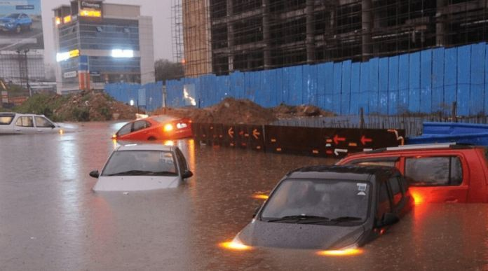 Heavy Rains In Hyderabad Erupts Car Insurance Claims