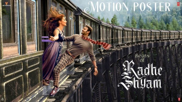Prabhas's 'beats Of Radhe Shyam' Motion Poster