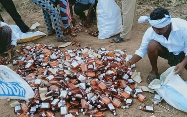 Liquor Smuggling In Temple Vehicles… Courtesy – People In Power