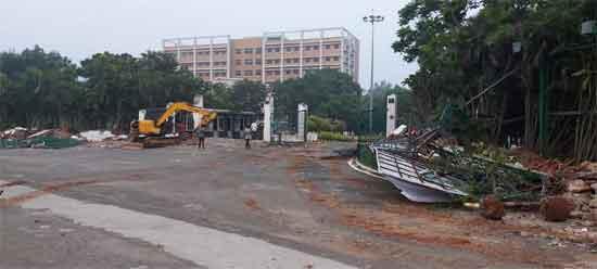 Ap Government Demolished Gitam University's Buildings In Visakhapatnam
