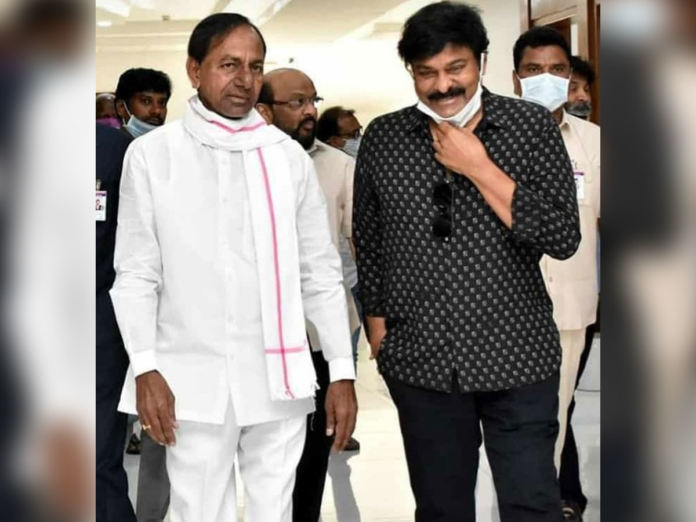 Chiranjeevi Thanks Kcr For Tollywood Releif Measures