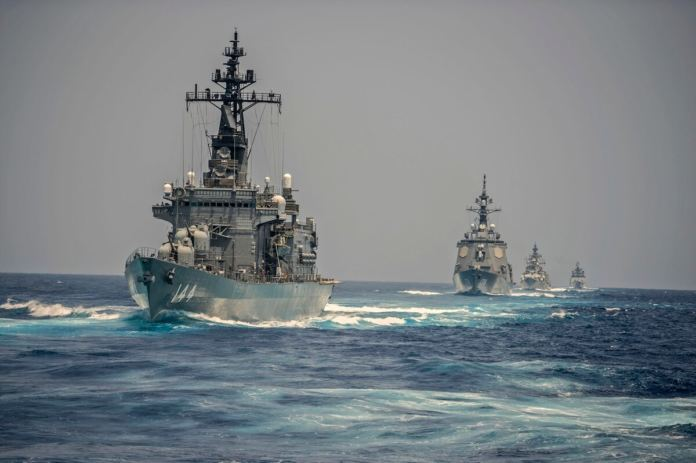 India – Us – Japan – Australia Started Naval Exercise In Malabar