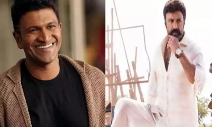 Fake News: Puneeth And Balakrishna Are Not Sharing Screenspace