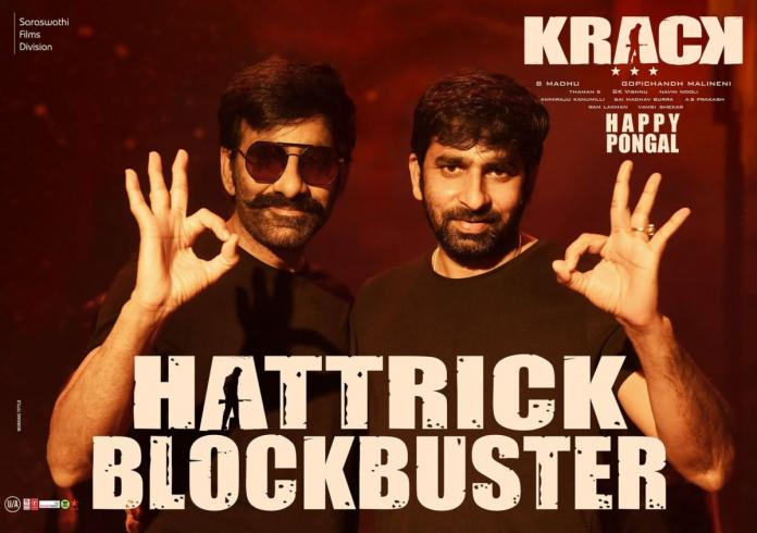 Collection Report: Ravi Teja's 'krack' Continues To Get Massive Collections On The 2nd Day!