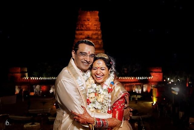 Photo Moment: Singer Sunitha – Ram Wedding