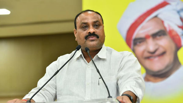 Atchannaidu Criticized The Ycp Govt By Supporting The Judgment Of The Ap High Court