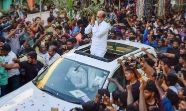 Fans Are Protesting Over Rajini's Political Entry